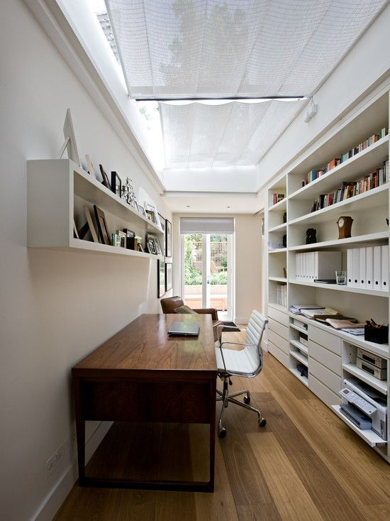 home-office Contemporary+London+House+Contemporary+Home+Office+London ホームオフィス