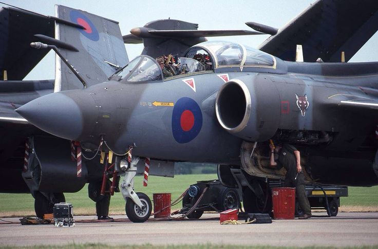 Blackburn Buccaneers. RAF (1980s)