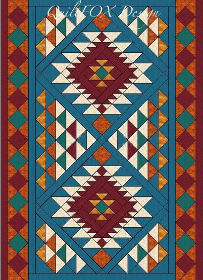 25 Best Ideas About Southwest Quilts On Pinterest