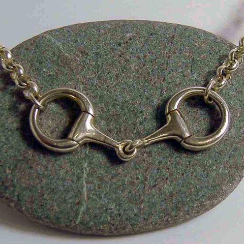 Silver Snaffle Pendant – Unio Goldsmith