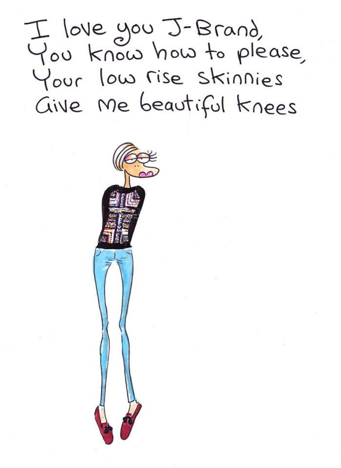 Today is a J BRAND skinnies day !!! xxx