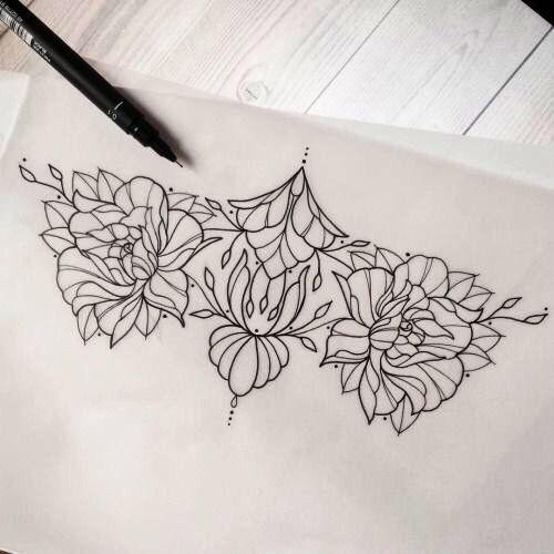 best 25 sternum tattoo design ideas on pinterest. Black Bedroom Furniture Sets. Home Design Ideas