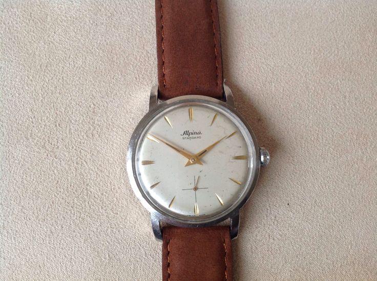 Alpina Hand Winding Watch, Swiss Made