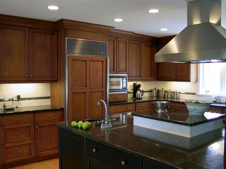 multi level kitchen island designs style kitchen with multi level island by kitchen bath - Multi Kitchen Ideas