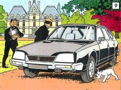 Citroen • Tintin inspired • Citoen 2CV Duck