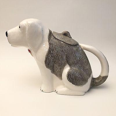 Greg Moll, Vandor 1979 Sheepdog Teapot Japan Vintage