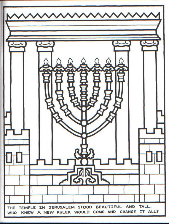 Menorah Coloring Pages Hanukkah Crafts Menorah Hanukkah Menorah