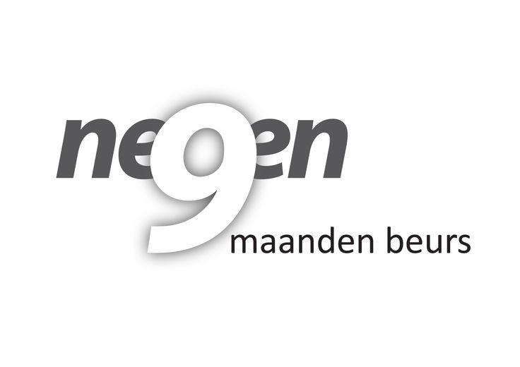 Logo gemaakt voor een plaatselijke negen maanden beurs. Typografie. http://markrademaker.nl