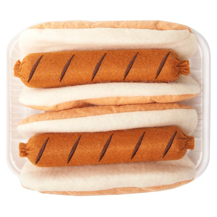 Antsy Pants Play Food Felt - Hot Dog