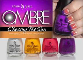 China Glaze Ombre Kit 'Chasing the Sun'