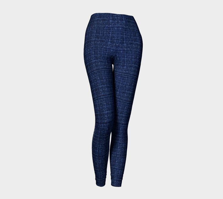 "Leggings+""Dark+Blue+Jeans+V2""+by+DreamStore"
