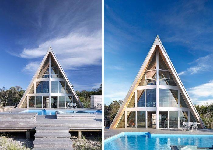 house hut in America
