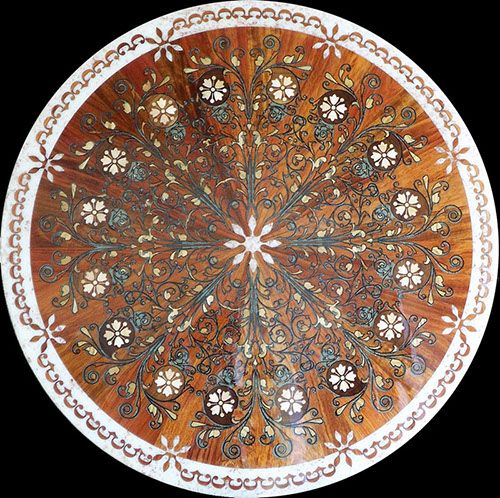 23 best images about wood flooring medallions inlays for Wood floor medallion designs