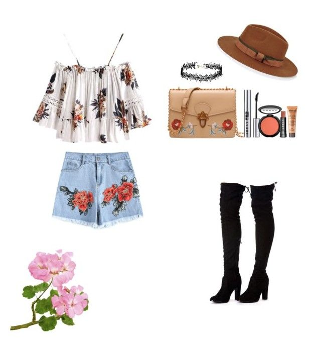 """""""It's all about floral """" by skylarmuffin on Polyvore featuring LORAC, Christys', floral and flowerpower"""