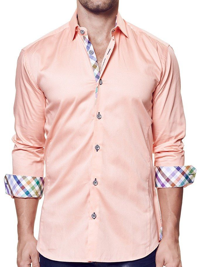 Brax Orange | Dress Shirt LS