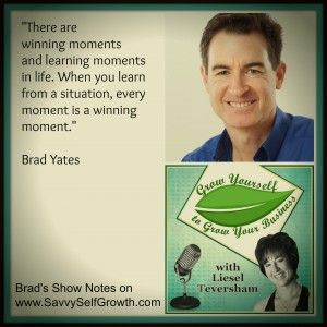 Listen in as Brad Yates, who has over 500 Youtube tapping videos, shares with us his own growth as a successful EFT practitioner. He shares profound gems of wisdom around learning, winning, failing and loving yourself.