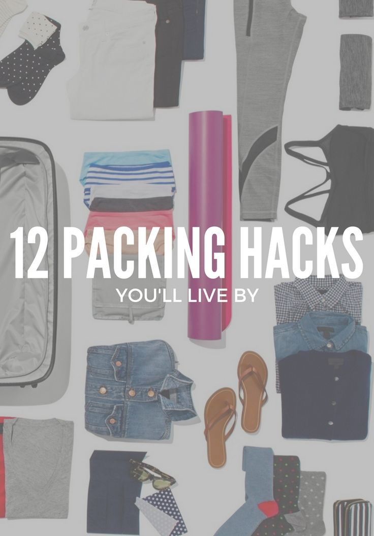 We interviewed experts, perused Pinterest and polled our friends and family for every viable packing hack we could find. Here, the top 12 tricks for putting together a better bag.