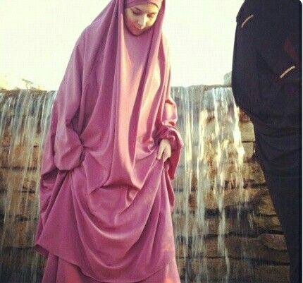 Jilbab rose