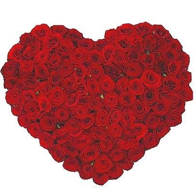 Сердце из красных роз на биофлоре с доставкой по Москве http://www.dostavka-tsvetov.com/osobye-bukety/rozi-gemchug-lubvi