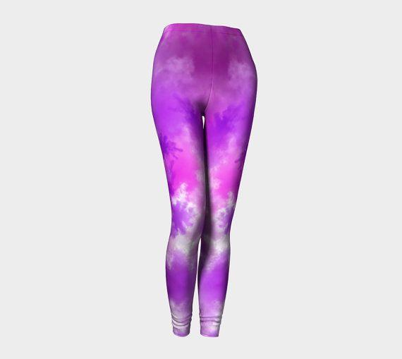 Yoga leggings exercise leggings yoga by Traceyleeartdesigns