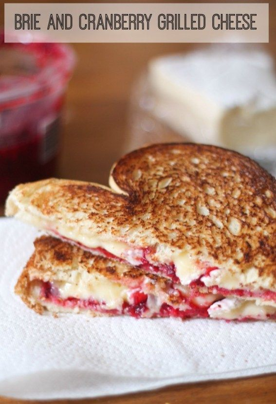 Bri and Cranberry Grilled Cheese -1