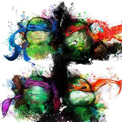 Ninja Turtles - Fan Art Created by Jason Oakes