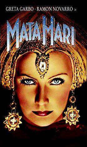 Greta Garbo starring the 1931 movie Mata Hari