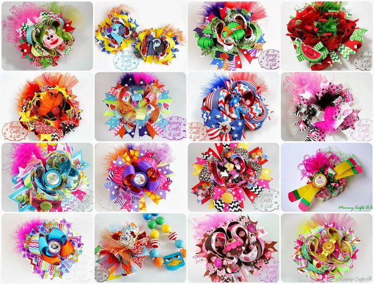 DIY Hair bows (So you want to make a bow?) Part 1 : Supplies needed and where to purchase them :)