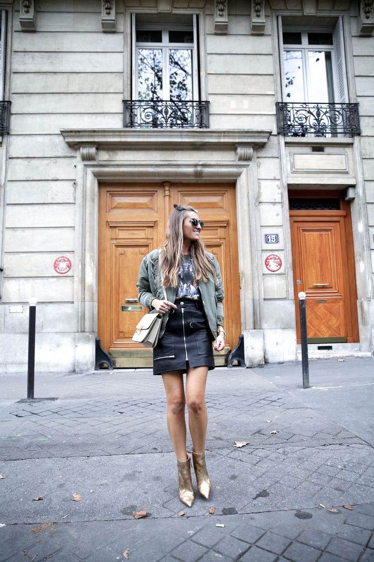 fashion-moda-paris-pfw-isabel-marant-leather-falda-piel-camiseta-rockera-golden-boots-celine-bag-bolso-bomber-iro-bartabac-blog-fashion-silvia_-6