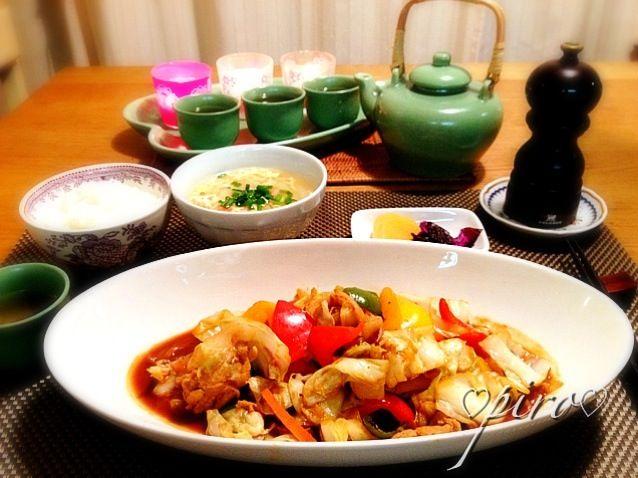 今日は冷蔵庫のお掃除。 回鍋肉と白菜入りかき卵中華スープの夕食です。 - 126件のもぐもぐ - 回鍋肉 白菜のかき卵中華スープHoikourou. Chinese soup containing cabbage and egg input. by 0987hiropon