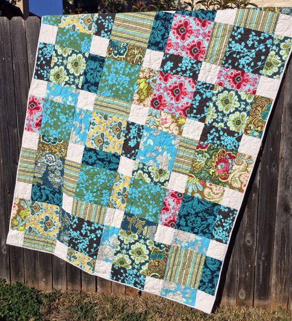 Secret Garden Quilt Featuring Amy Butler Belle Fabrics