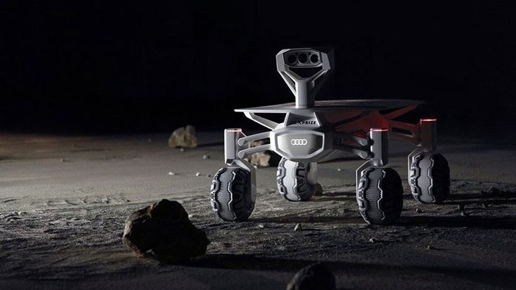 audi contributes to german team moon rover for google lunar xprize