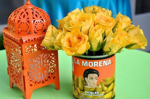 This listing is for 6 La Morena cans (quantity of 1 = 6 cans)  Everyone loves Mexican metal cans for decorating a party!  La Morena cans make great table decorations for any Fiesta! add a cactus or flowers.... place your utensils or drinking straws.... use as votive... simple add a candle.... or pour melted wax to make your own candle! or use to make your own decorations... so many ideas!!!!  After your party, use them as decorations in your kitchen or garden!  You will receive cans that…