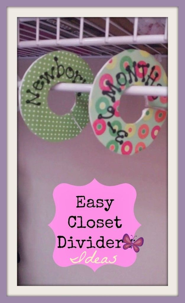4 Awesome Baby Closet Dividers They Are Affordable Too