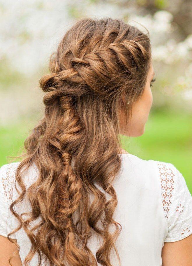 Hairstyling für die Wiesn: Die schönsten Oktoberfest-Frisuren für langes Haar #promhairstylesforlonghair
