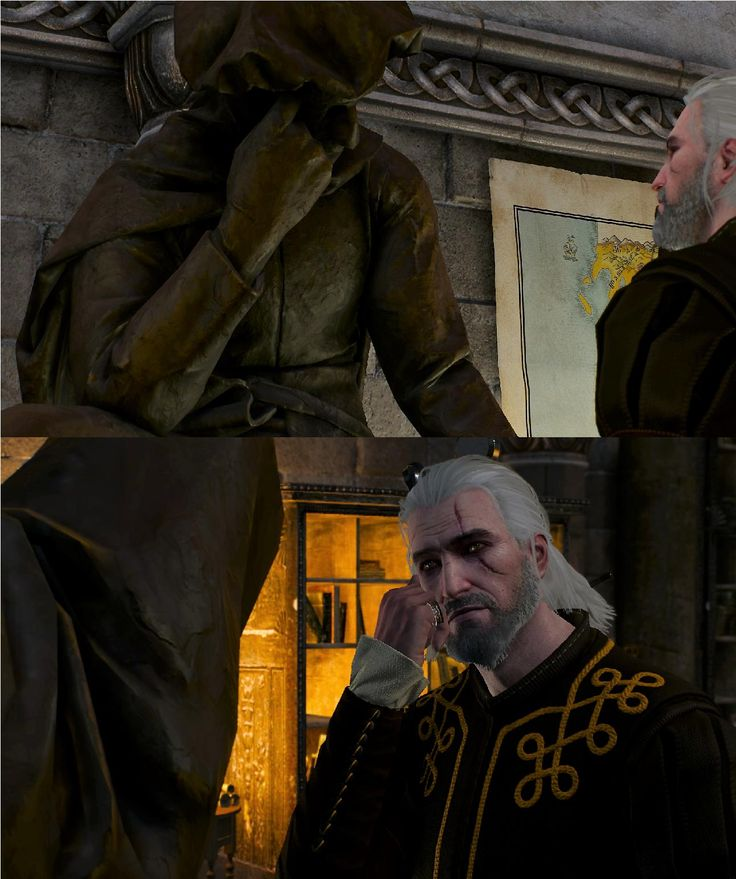 It's the little things. [Witcher 3]