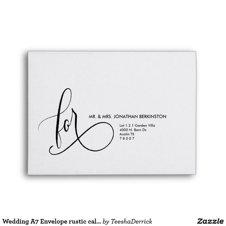 Best Wedding Envelope Template Images On   Envelopes