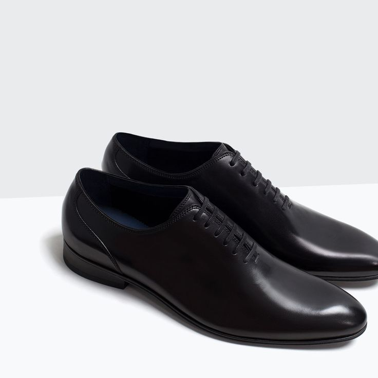 LEATHER SHOES-Shoes-Shoes-MAN | ZARA Turkey | fasion in ...