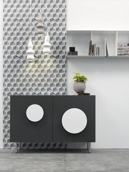 Wooden console BOLD 1 by @Ex.t | #design Mist-o #interiors
