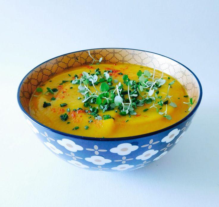 Roasted 'Punkin' Soup