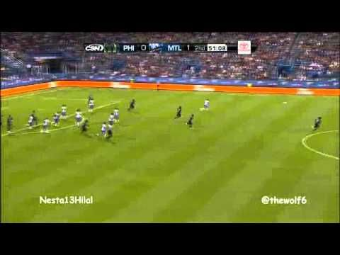 Alessandro Nesta VS Philadelphia Union 5-8-2012
