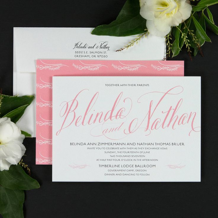 sister wedding invitation card wordings%0A Signature Script Wedding Invitations