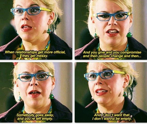 Penelope Garcia... too worried about getting closer to KL