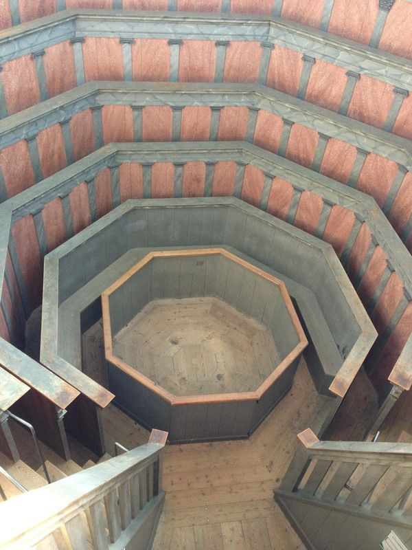 Uppsala university, Sweden   The world's second-oldest operating theater is a pink arena
