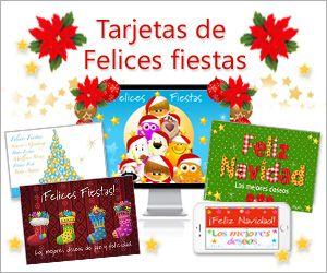 postales de felices fiestas para todos tarjetas de