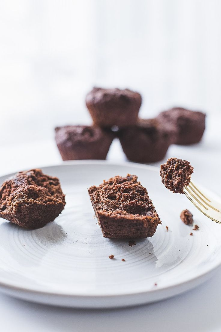 Paleo-friendly grain-free chocolate zucchini muffins! The perfect breakfast or snack that's healthy and is a sweet way to eat your vegetables.   Honestly Nourished www.honestlynourished.com