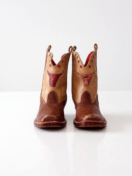 vintage children's cowboy boots