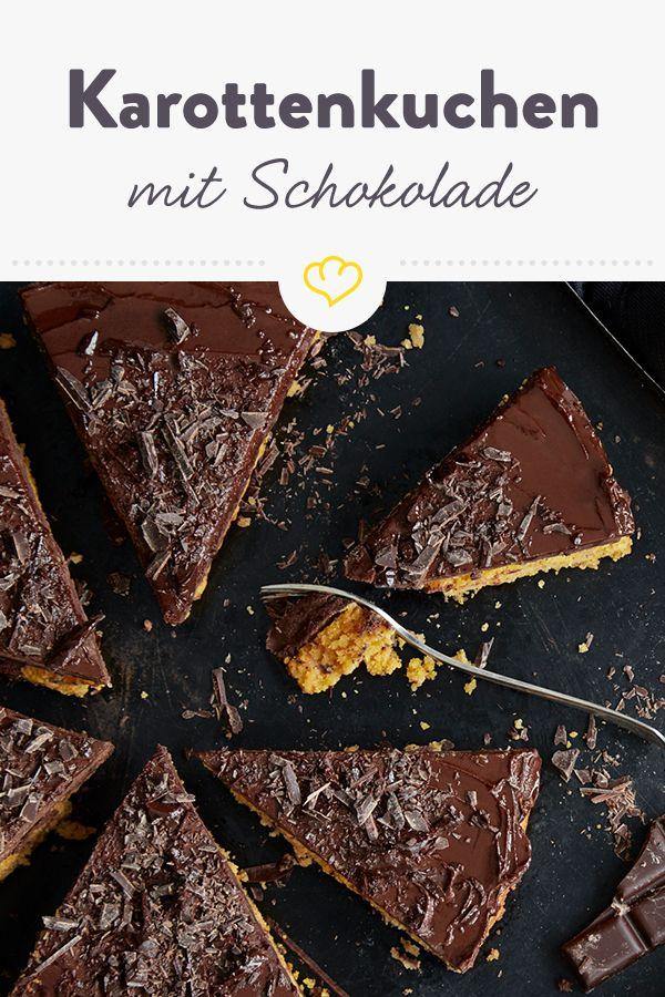 Schokoladen-Karottenkuchen mit Ganache – Schokoladenhunger