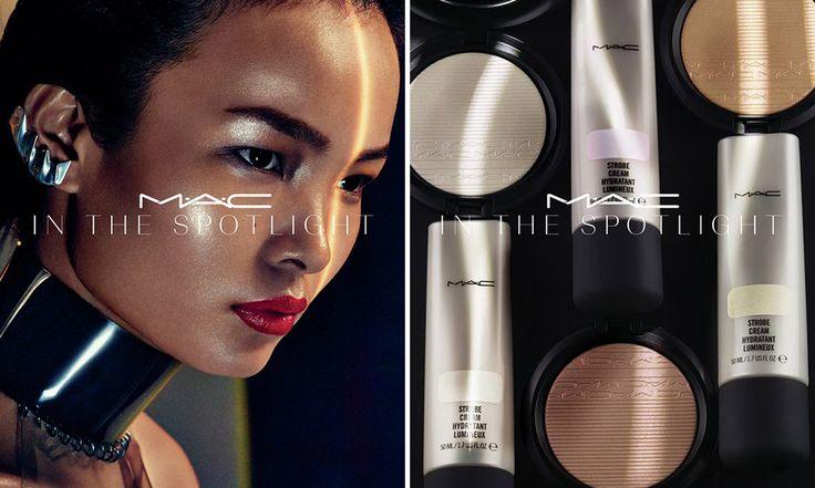 MAC In The Spotlight, nuovi illuminanti fluidi e in polvere - http://www.beautydea.it/mac-in-the-spotlight-illuminanti/ - Il viso risplende di luce propria con i nuovi illuminanti Extra Dimension Skinfinish e le nuove tonalità di Strobe Cream Mac Cosmetics!