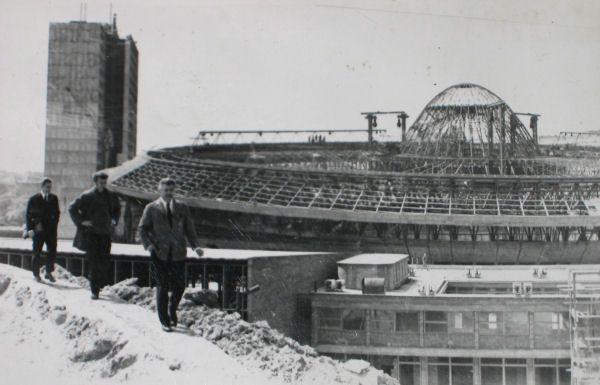 Maciej Krasiński, Maciej Gintowt. Spodek, Katowice, 1964-1971